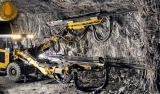 Vorbereitung zur Absprengung von Golderz in der LaRonde-Mine von Agnico-Eagle Mines in Quebec, Kanada