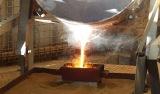 Der erste Goldbarren wird gegossen - ein Meilenstein für das Unternehmen