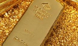 Goldbarren; Foto: Degussa