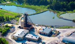 Schacht Nr. 3 der Macassa-Gold-Mine von Kirkland Lake Gold