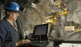 Arbeiten in der LaRonde-Goldmine von Agnico Eagle Mines