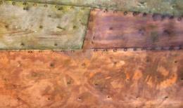 Kupfer-Patchwork