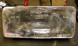 Silberbarren; Foto: Formation Metals
