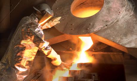 Goldproduktion in der LaRonde Mine von Agnico-Eagle Mines