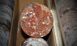 Kali-Bohrkerne; Foto: Western Potash Corp.