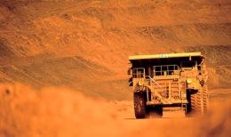 Erztransporta auf einer Mine in Australien; Foto: BHP Billiton