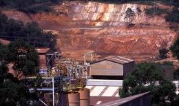 Die Queiroz Goldanlage auf AngloGold Ashanti Brasil Mineração-Mine