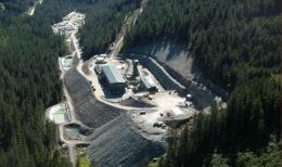 Das Kensington-Minengelände von Coeur D'Alene Mines