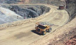 Die Songvang-Tagebaugrube in der Agnew Goldmine von Gold Fields in Australien