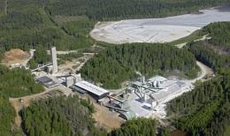 Die Verarbeitungsanlage Luikonlahti auf dem Outokumpu-Projekt von Altona Mining