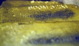 Goldbarren Foto: VisualMedia