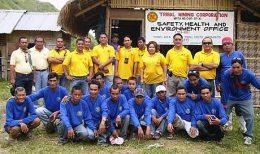 Das Team von Cadan Resources auf dem T'Boli Projekt