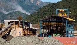 Die Minera Florida Mine von Yamana Gold