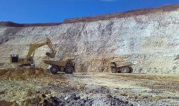 Tagebau auf dem Laverton-Projekt von Crescent Gold