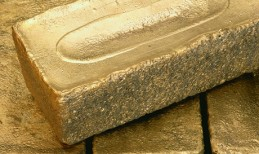Goldbarren; Foto: Barrick Gold