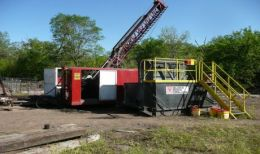 Bohrarbeiten auf dem Elk Creek-Projekt der Quantum Rare Earth Developments