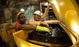 Die Untertagemine Blyvoor ist eines von mehreren Projekten des viertgrößten Goldproduzenten Südafrikas