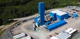 Minencamp der Lake Shore Gold Corp.