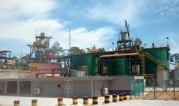Goldverarbeitungsanlage der Monument Mining
