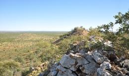 Das Roseby-Projekt von Altona Mining, Blickrichtung Norden auf die Lagerstätte Little Eva