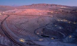 Die größte Kupfermine der Welt Escondida in Chile; Foto: BHP Billiton