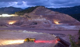 Auf einer Mine von Agnico Eagle; Foto: Agnico Eagle Mines