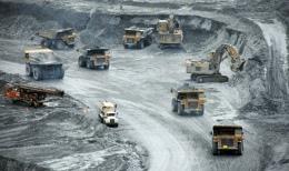 Geschäftiger Betrieb auf der Kumtor-Mine von Centerra Gold