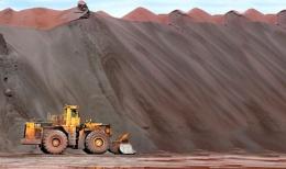 Erzhalden der Cliffs Natural Resources