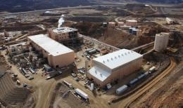 Produktionsanlagen der Molycorp; Foto: Molycorp Minerals