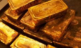 Goldbarren; Foto: Newcrest Mining