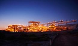 Die Telfer-Mine von Newcrest Mining; Foto: Newcrest Mining