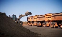 Newcrest_Mining_Telfer_Trucks