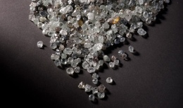 Diamanten aus einer Mine von Petra Diamonds, Foto: Petra Diamonds