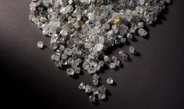Diamanten aus einer Mine von Petra Diamonds, Foto: Petra Diamonds