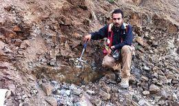 Exploration auf dem Projektgelände der Pasinex Resources in der Türkei