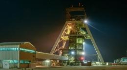 Schacht auf der Cooke-Mine von Sibanye Gold; Foto: Sibanye Gold