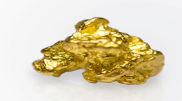 Goldnugget; Foto: Brazil Resources