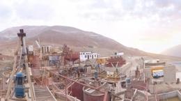 Zukünftige Verarbeitungsanlage von Montan Mining; Foto: Montan Mining