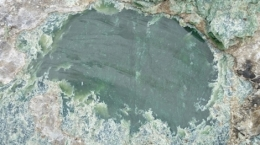 Jade-Naturstein aus British Columbia; Foto: Electra Stone