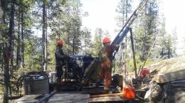 Bohrungen auf dem Driftwood Creek-Projekt; MGX Minerals