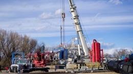 Bohrgerät auf der Magpie-Fläche; Foto: Elster Oil & Gas