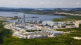 Luftansicht der Eleonore-Mine; Foto: Goldcorp