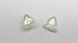 Diamanten von Kimberlit L46; Foto: Lucapa Diamond Company