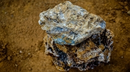 Zinkerz von der Pinargozu-Mine; Foto: Pasinex Resources