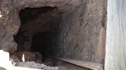 Stollen auf der Mountain View-Mine; Foto: Nevada Zinc