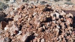 Zinkerz auf dem Lone Mountain-Projekt; Foto: Nevada Zinc