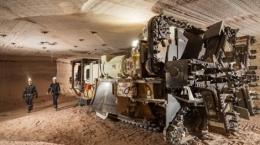 Untertagemine der Potash Corp.; Foto: Potash Corp.