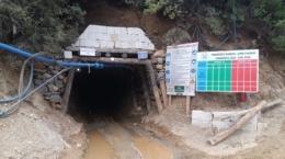 Eingang zu Pinargozu-Mine; Foto: Pasinex Resources
