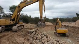 Auf dem Ana Sofia-Projekt; Foto: Centurion Minerals