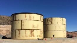 Blackham Resources -  2 neue Bleichtanks werden nach der Kommissionierung errichtet